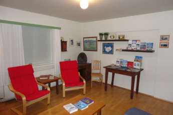 Vagnsstaðir : Common room at Vagnsstadir hostel