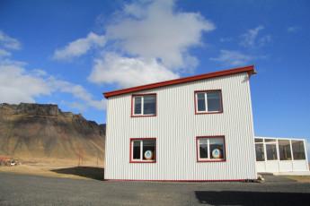 Vagnsstaðir : niños sosteniendo sus peces coger