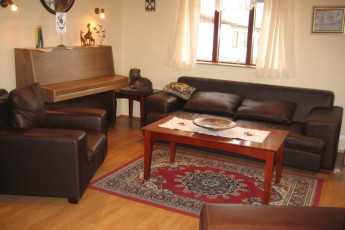 Árbót : Common room at Arbot hostel