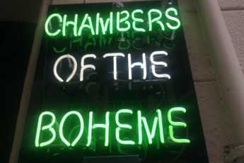 Istanbul - Chambers of the Boheme : Istanbul - Chambers of the Boheme sign