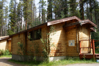 HI - Athabasca Falls Wilderness Hostel : HI - Athabasca Falls Wilderness Hostel cabin
