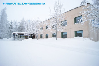 Lappeenranta - Finnhostel Lappeenranta : Finnhostel Lappeenranta Hostel Building in the Winter