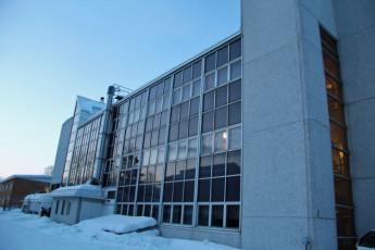 Rovaniemi - Santa's Hostel Rudolf : Hostel Rudolf in winter