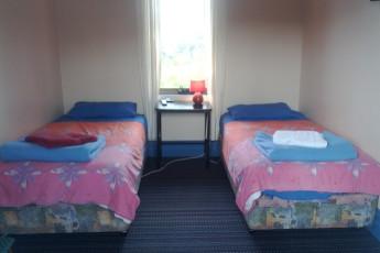 Albany YHA : Albany YHA twin room