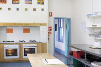 Albany YHA : Albany YHA kitchen