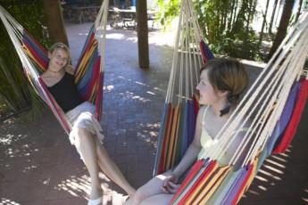 Broome - Kimberley Klub YHA : Broome Kimberley Klub YHA hammock