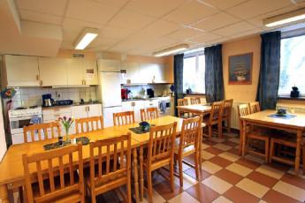 Karlshamn : Dining room in Karlshamn Hostel