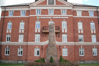 Karlstad : Karlstad Hostel front entrance