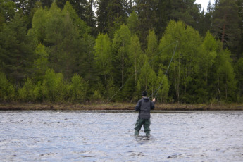 Sälen : River fishing