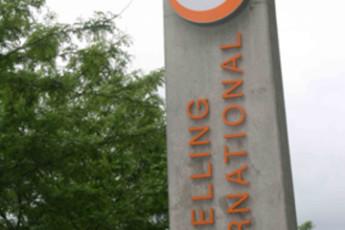 Vienna - Brigittenau : Brigittenau sign