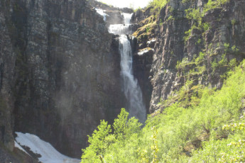 Sälen : Waterfall