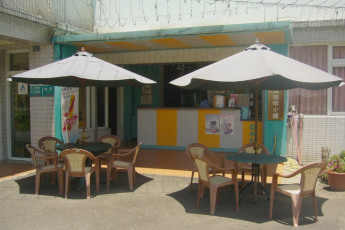 Chuan-Hsi-Jai Youth Hostel : Cafe at Chuan-Hsi-Jai Youth Hostel, Taiwan