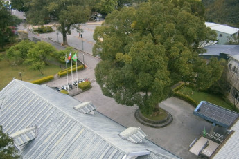 Fuhsing Youth Activity Center - Taoyuan : Birds eye view of Fuhsing Youth Activity Center entrance in Taiwan