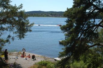 Rimforsa/Kalvudden : Rimforsa Kalvudden beach
