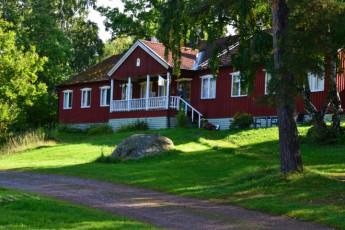 Rimforsa/Kalvudden : Rimforsa Kalvudden building front