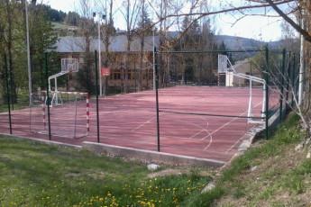 La Molina - Mare de Deu de les Neus : The Molina Mare de Deu de les Neus tennis court
