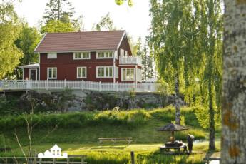 Töcksfors/Turistgården : Tocksfors Turistgarden building view