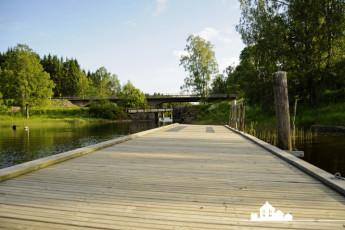 Töcksfors/Turistgården : Tocksfors Turistgarden decking