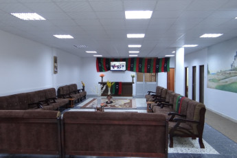 Sabrata : Lounge room in Sabrata, Libya