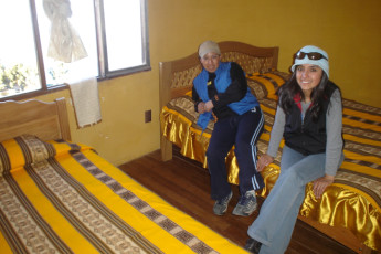 Inca Pacha' Isla del Sol : Double room in Inca Pacha' Island of the Sun, Bolivia