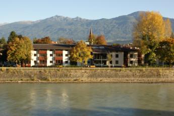 Innsbruck - Fritz Prior - Schwedenhaus : Fritz prior Sweden House Hostel view Innsbruck