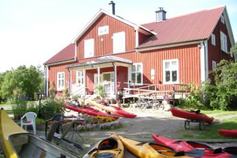 Björkfors : Bjorkfors hostel in sweden exterior