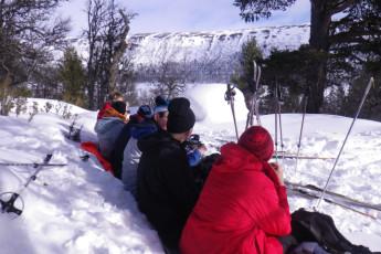 Grövelsjön Mountain Station : Dalarna - Grovelsjon Mountain Lodge Hostel in Sweden skiing activity