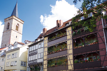 Erfurt : Erfurt Kramerbrucke