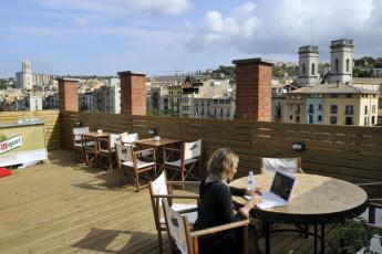 Girona - Equity Point Girona : Equity Point Girona roof terrace