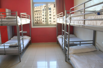 Barcelona - Equity Point Centric : Barcelona - Equity Point Centric Hostel Dorm Room