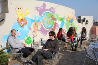 Barcelona - Equity Point Centric : Barcelona - Equity Point Centric Hostel Roof Terrace