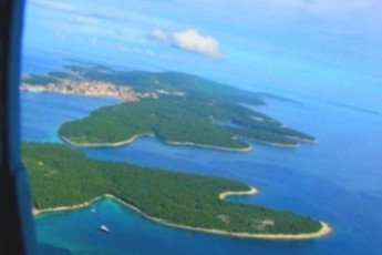 Veli Losinj - Youth Hostel Veli Losinj : Youth Hostel Veli Losinj aerial view of islands