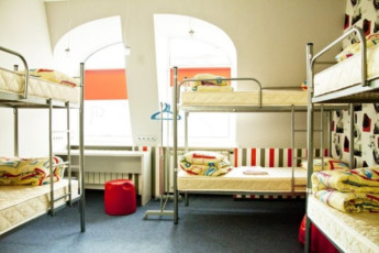 Kiev - ZigZag Hostel : Dorm room with white walls in Kiev - ZigZag Hostel in Ukraine