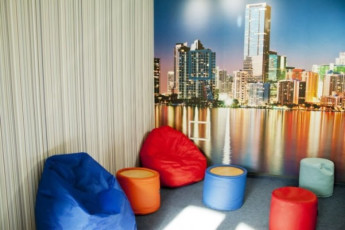 Kiev - ZigZag Hostel : Lounge area of Kiev - ZigZag Hostel in Ukraine