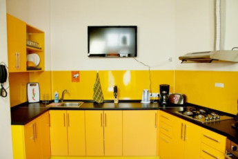 Kiev - ZigZag Hostel : Kitchen in Kiev - ZigZag Hostel in Ukraine