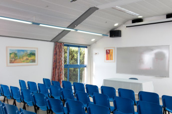 Shlomi : Lecture Hall in Shlomi Hostile, Israel