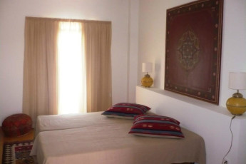 Tavira : Double room at Tavira hostel in Portugal