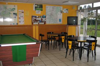 Auberge de jeunesse Hi Poitiers : comedor en Poitiers Hostel, Francia