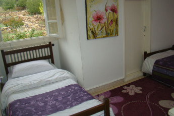 Kfardebian  - Beity Youth Hostel : Twin room at toward Kfardebian - Beity Youth Hostel in Lebanon
