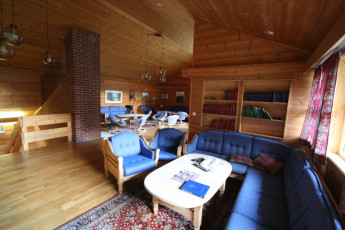 Lysefjorden : Common Room in Lysefjorden Hostel, Norway