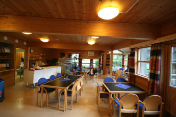 Lysefjorden : Dining Room in Lysefjorden Hostel, Norway