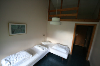 Lysefjorden : Twin Room in Lysefjorden Hostel, Norway