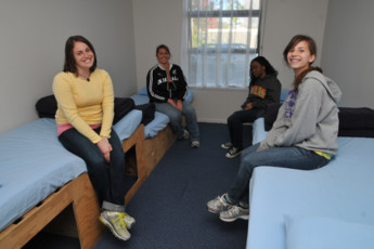 YHA Rotorua : 4 lit dortoir à Rotorua dis Hostel, Nouvelle-Zélande