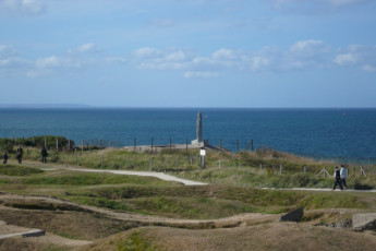 Cherbourg/Octeville : View of landscape and sea near Cherbourg/Octeville hostel in France