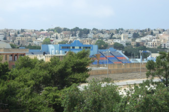 Msida - NSTS Campus Residence : View of the surrounding area from the Msida - NSTS Campus Residence hostel in Malta