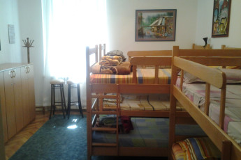 Belgrade - Sun Hostel Belgrade : Dorm room with bunk beds in the Belgrade - Sun Hostel Belgrade in Serbia