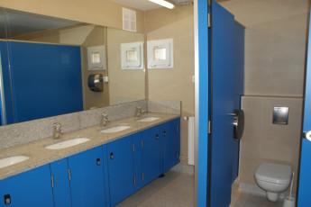 La Seu d'Urgell - La Valira : La Seu d'Urgell La Valira toilets