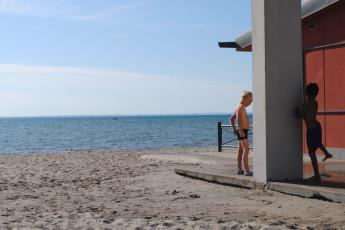 Landskrona : Landskrona beach
