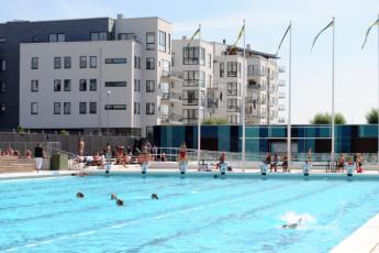 Landskrona : Landskrona pool