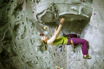 Füssen : Fussen Hostel rock climbing wall